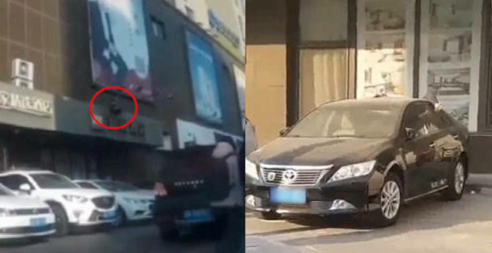 「坠楼身亡」行车记录仪拍下惊悚瞬间!女子坠楼砸在车顶当场身亡