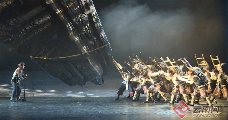 「中国歌剧舞剧院创作的民族舞剧」反响强烈!大型民族舞剧《幸福花山》在砚山公演
