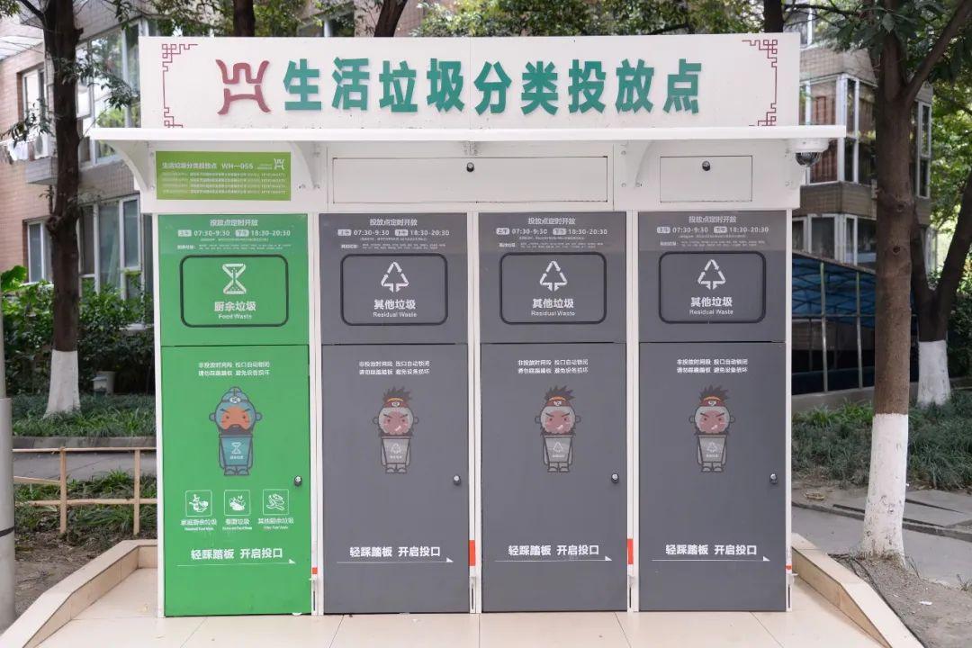 垃圾的分类和回收_垃圾的分类培训_四分类垃圾房