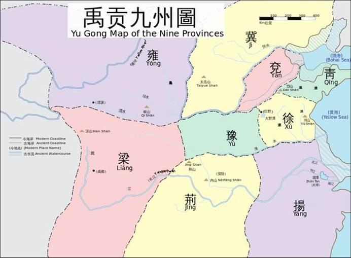 """古人常说""""九山镇九州"""",家乡的神山是哪一座,你知道吗?"""