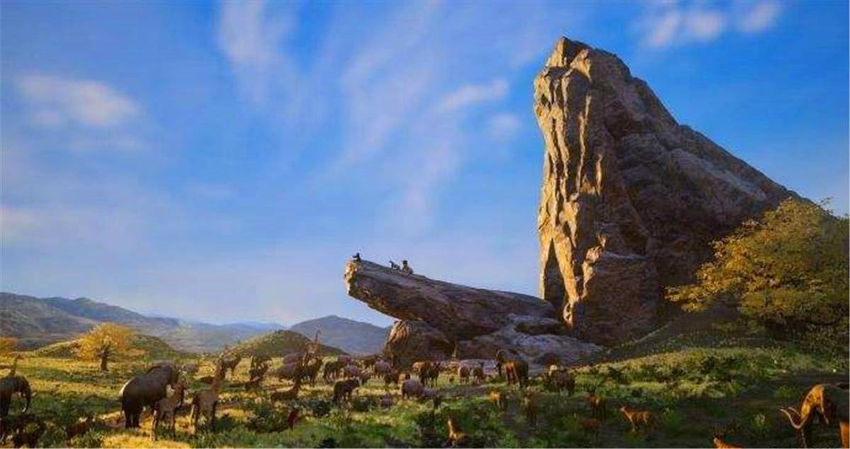 """高度还原,达人在《孤岛惊魂5》中自制《狮子王》""""荣耀石""""场景"""