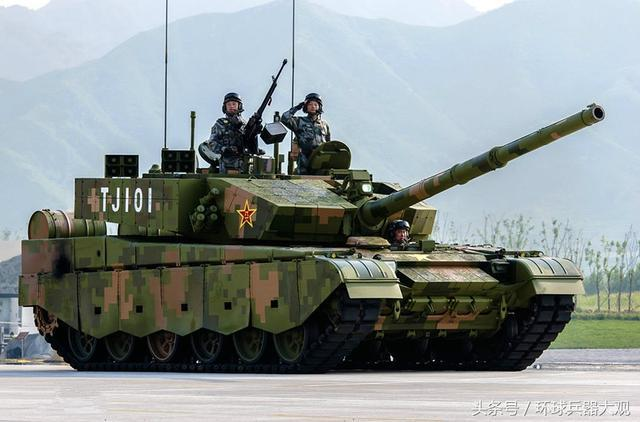 99改式主战坦克视频_