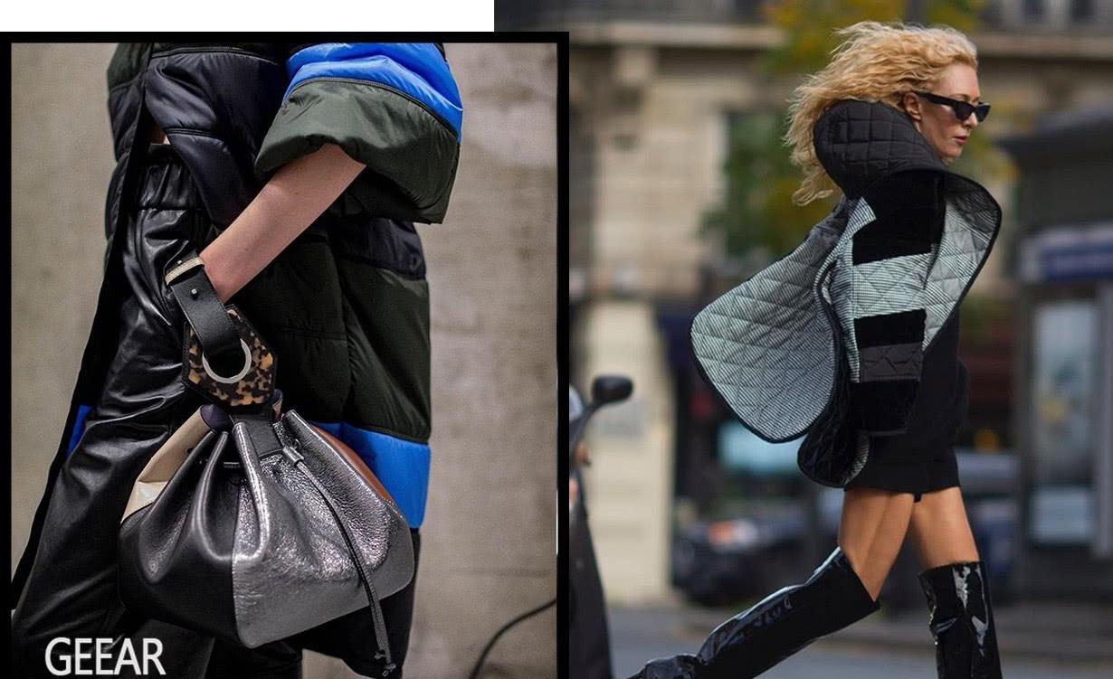 新一波外套热潮酝酿中:夹棉外套誓成为街拍潮人的抢手货!