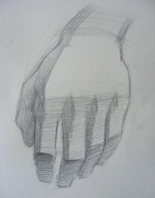 教你怎样画出结实的素描手
