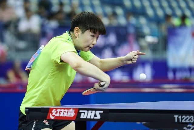 国乒00后新星爆发,强势创造竞争机会,刘国梁会给她奥运名额吗