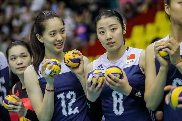 女排姚迪和郑益昕都是美女,两人谁是现役国手中的第一颜值