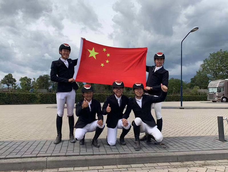 中国马术队刷新历史!场地障碍项目晋级东京奥运会