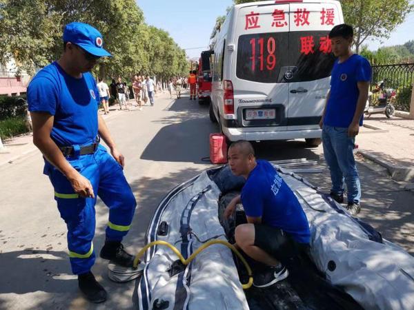 两天来黄河多人溺水 救援队呼吁:别来了