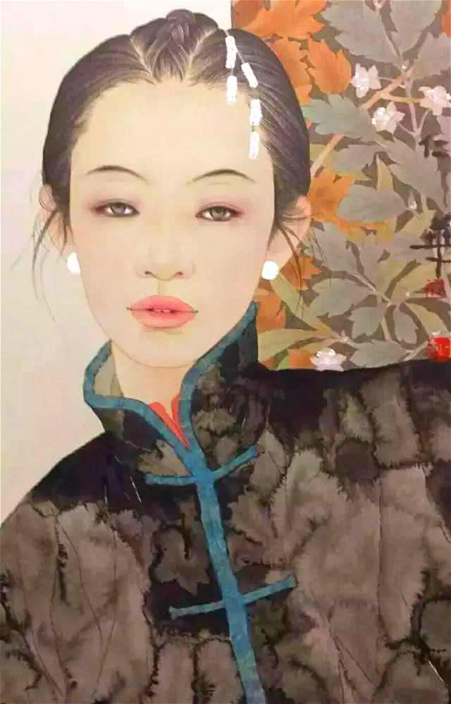 她初中没毕业学画1年,第1幅画获全国大奖,30年后破格进画院