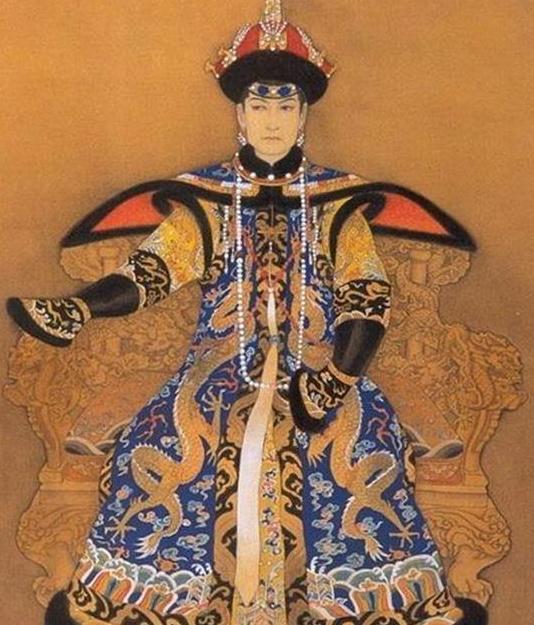 关于清朝时期末年慈禧太后葬礼一事在历史书上面的记载!