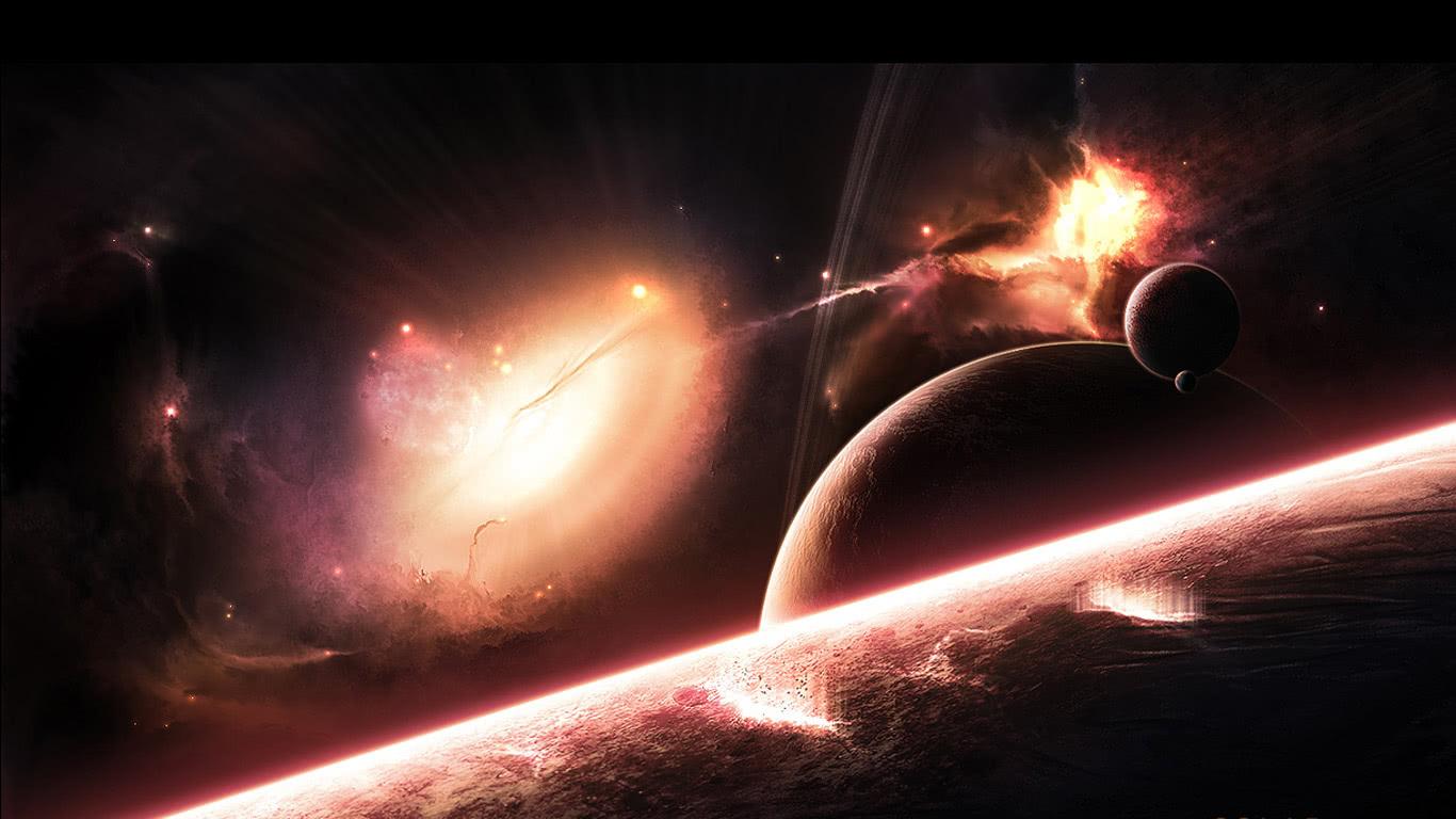 浩瀚宇宙无边无界,宇宙究竟为何物,人类太渺小