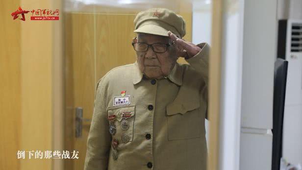 """93岁老兵:""""我算什么英雄,倒下的那些战友才是真正的英雄!"""""""