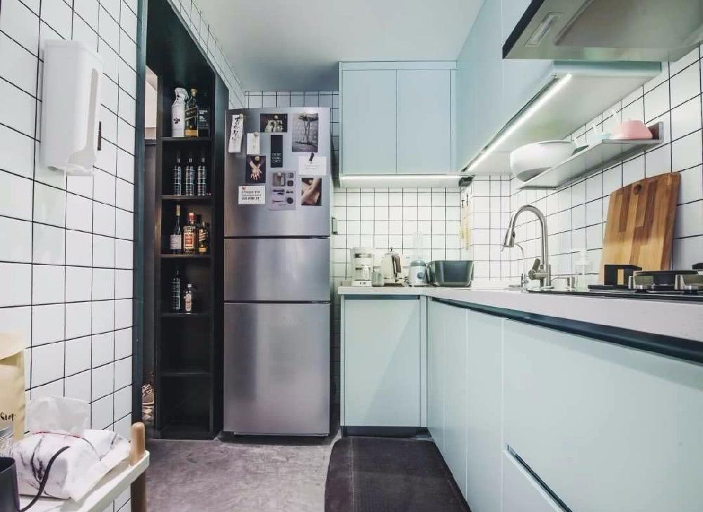 更适合国人的半开放式厨房,16套案例照搬回家,邻居都羡慕!