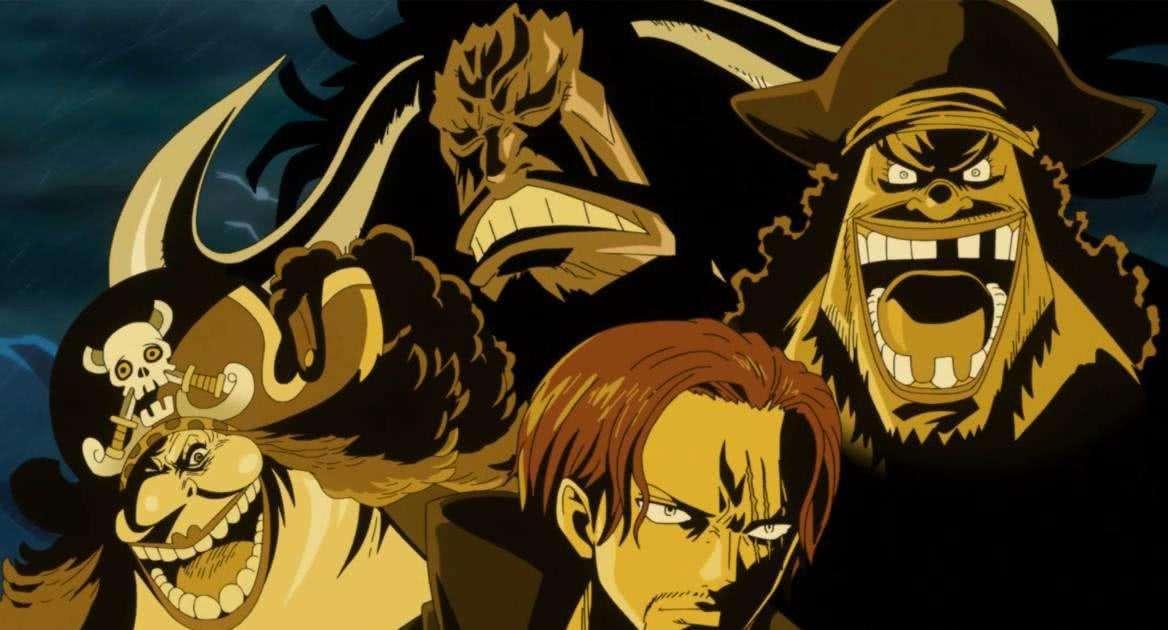 海贼王:坐拥一方霸土的四皇都喜欢什么?只有红发喜欢自由!