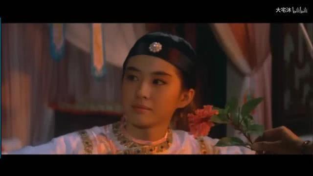 当刘亦菲AI换脸王祖贤,灵动有了,眼神还是输了