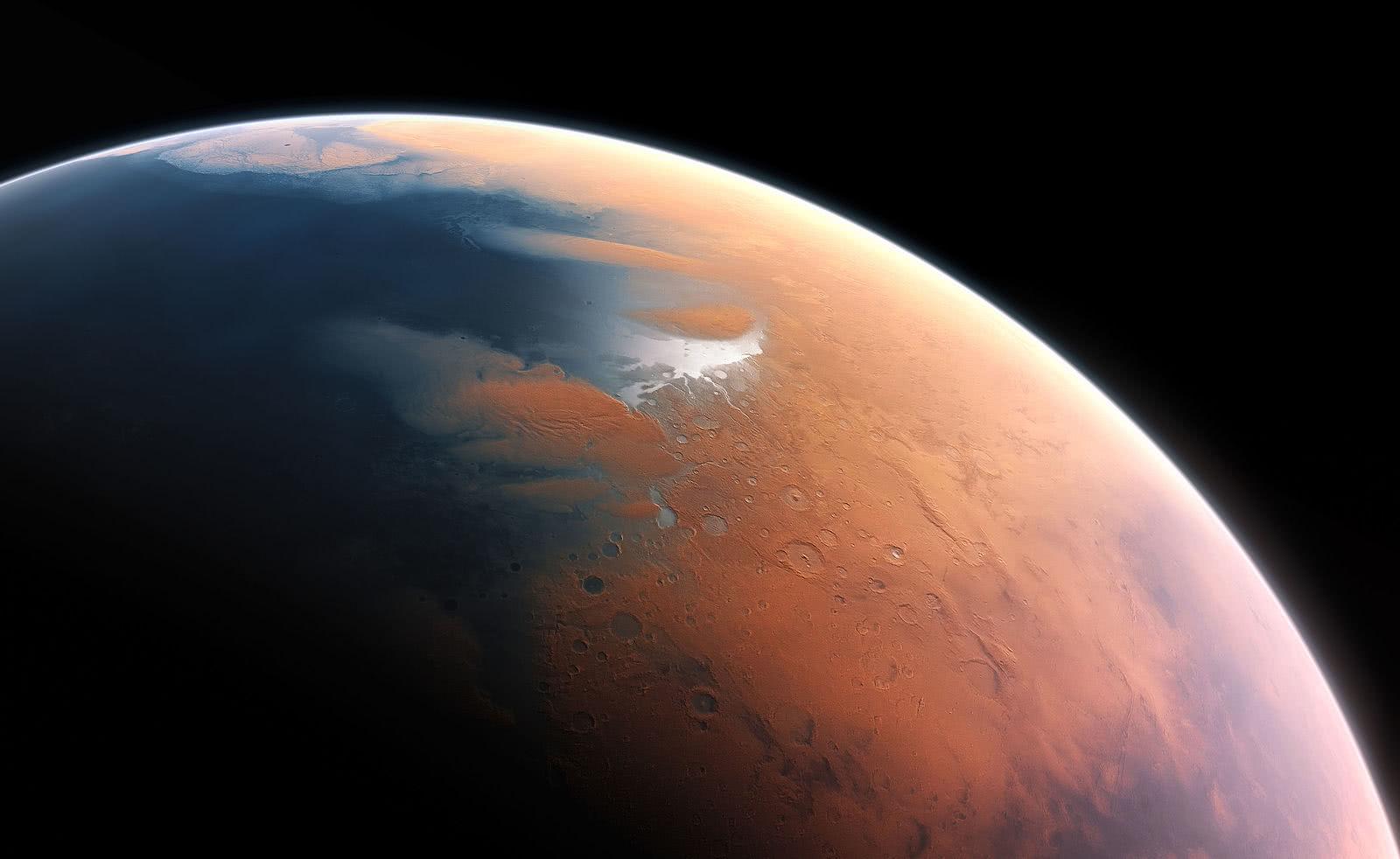 火星上发现了神秘的磁脉冲现象!