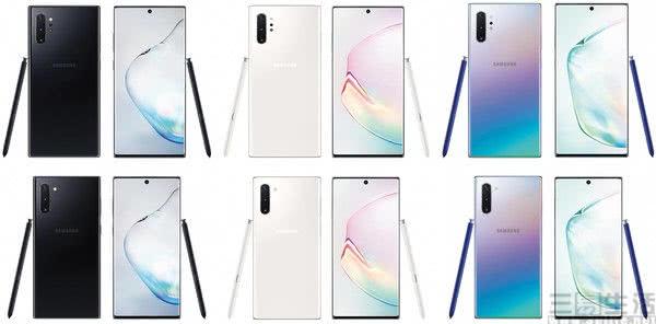三星Note 10系列渲染图亮相,产品差异几乎明确