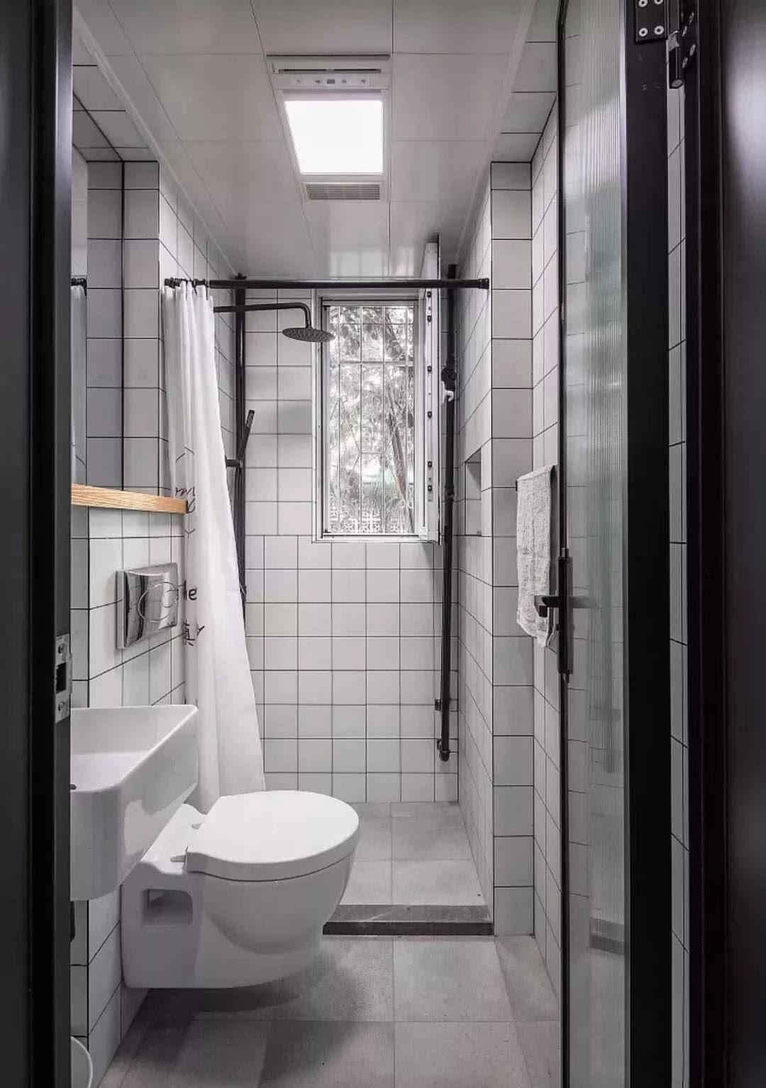卫生间如何装,看完这几点就懂了