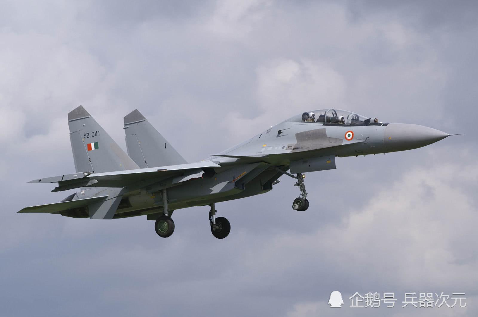 目标超越歼16!印度全面升级苏30战机,打击能比歼20还强