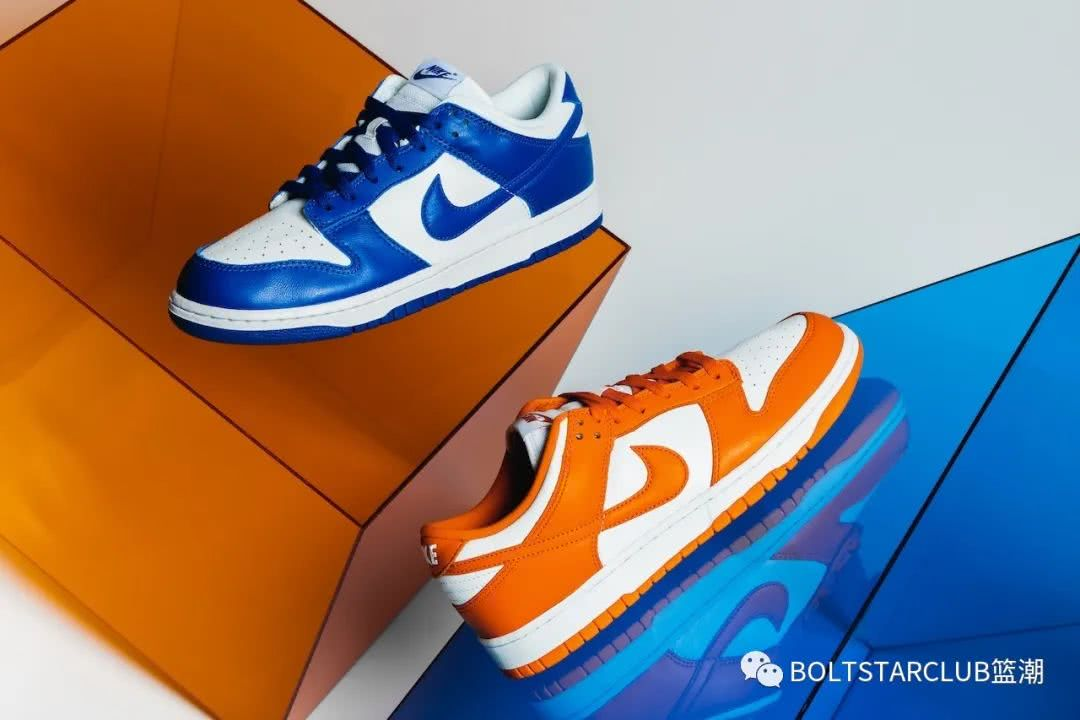 近赏 Nike Dunk Low SP「Kentucky」及「Syracuse」配色