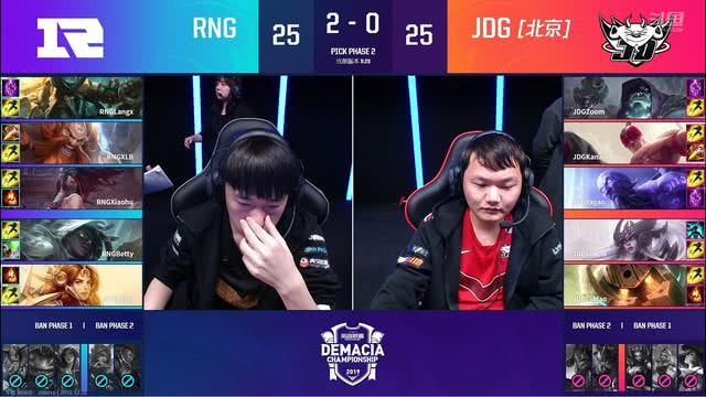 <b>虎大将军上线!RNG击败JDG进入决赛 猪狗大战引米勒期待</b>