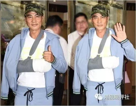 任达华留医5日出院:右手神经线需时间康复