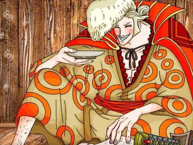 海贼王960:发际线暴露,狂死郎就是傅次郎,路飞联盟在大蛇的卧底