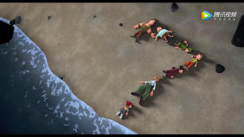 《第七个小矮人》勇敢善良的他们救回了萝丝公主