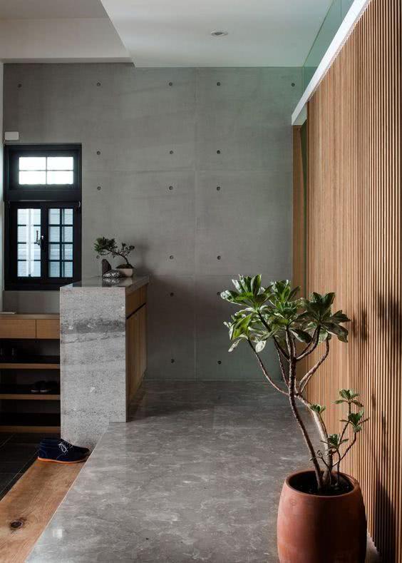 凭啥说白墙烂大街!看看有钱人家室内墙,清水混凝土一次浇筑成型