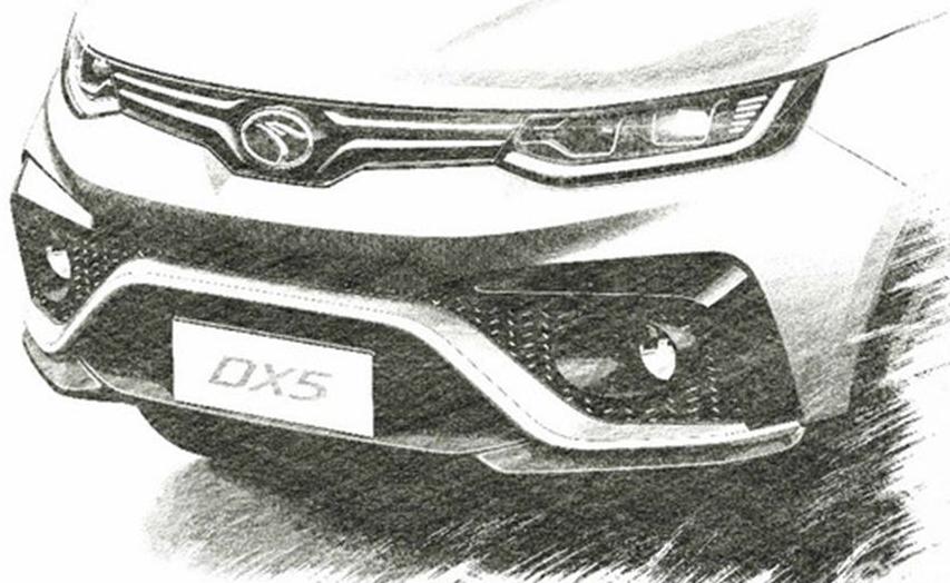 东南最新DX5实车曝光,配8挡自动,运动车身,科技智能操控!