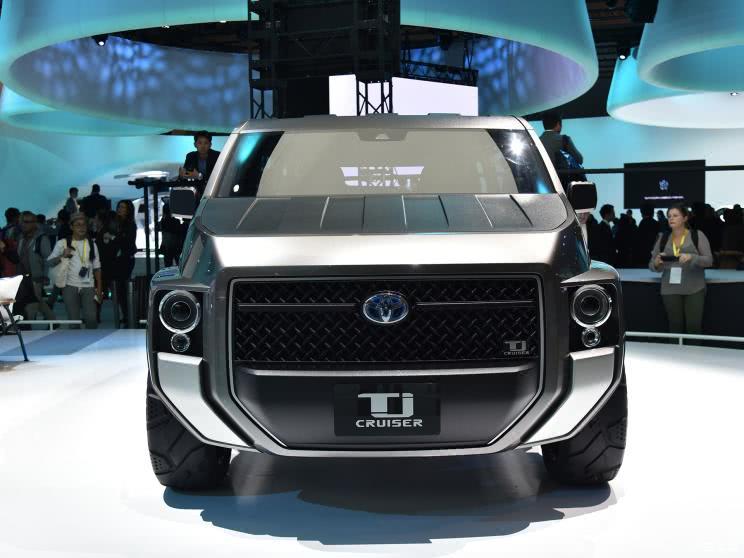 丰田 新越野车?跨界SUV 或于5月正式亮相