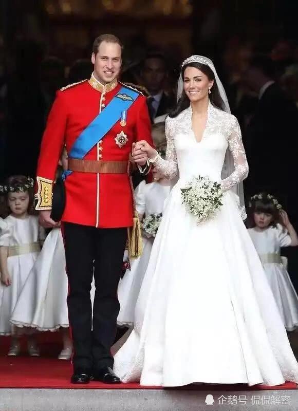 凯特王妃和威廉王子的结婚现场,还有很多你可能没见过的甜蜜瞬间