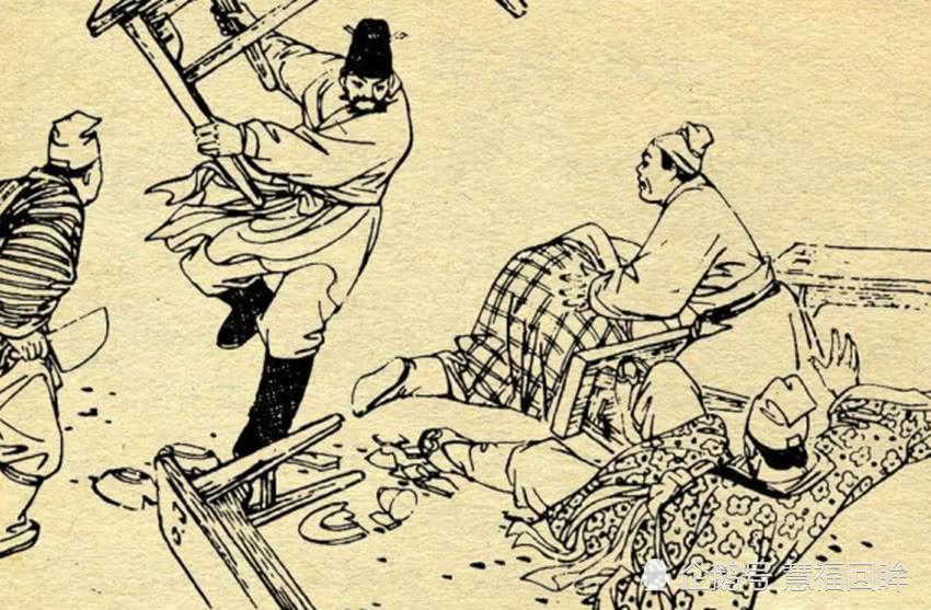程咬金没练过武,一宿憋出三斧子半招术,竟能劫下皇杠,拿下瓦岗