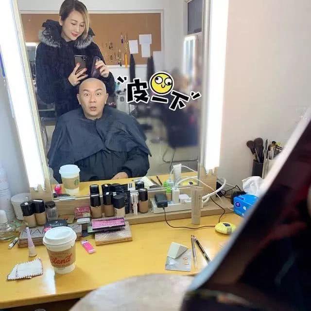陈浩民被蒋丽莎剃光头,居然撞脸张卫健!