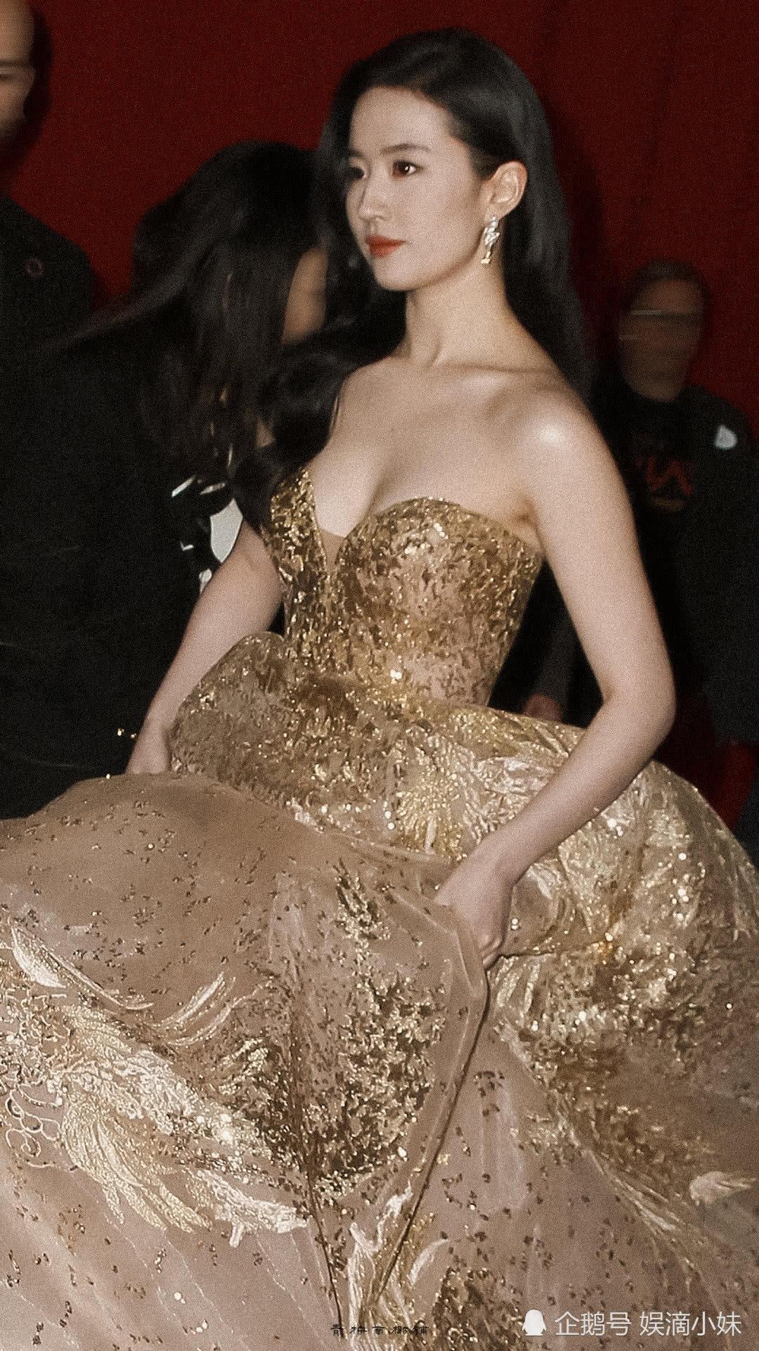 刘亦菲现身《花木兰》首映,身材发福,网友热议:还是曾经的神仙姐姐吗?