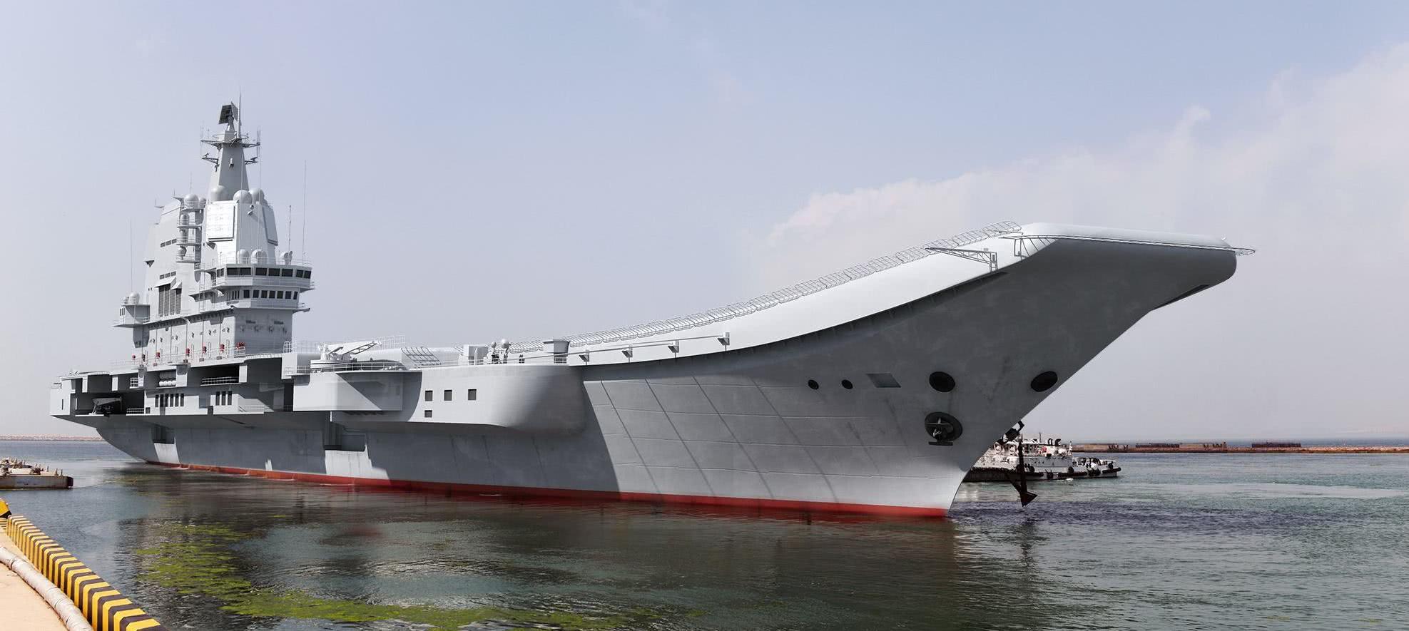 002航母传出喜讯,专家透露载机量提升50%,性能远超辽宁号