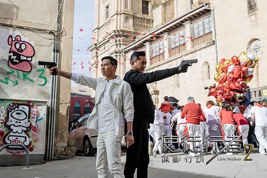 《使徒行者2》终极版预告张家辉古天乐浴血激战