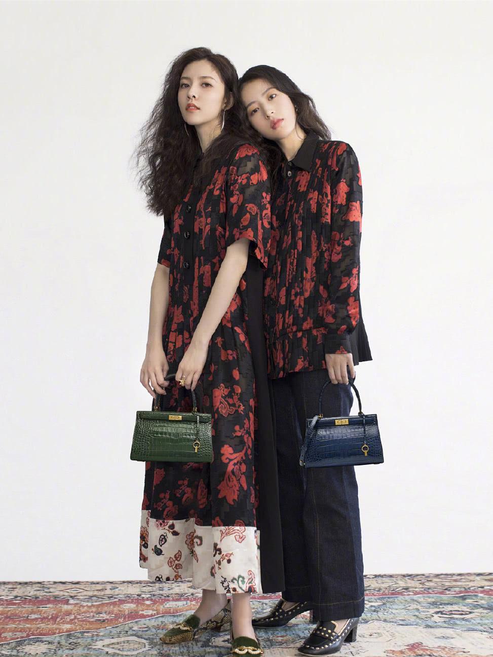 周雨彤和宋妍霏,挑战姐妹花造型,终于找到闺蜜装正确打开方式!
