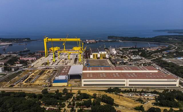 俄罗斯最大的船厂:先是买中国机械 后来连土木工程都靠中国