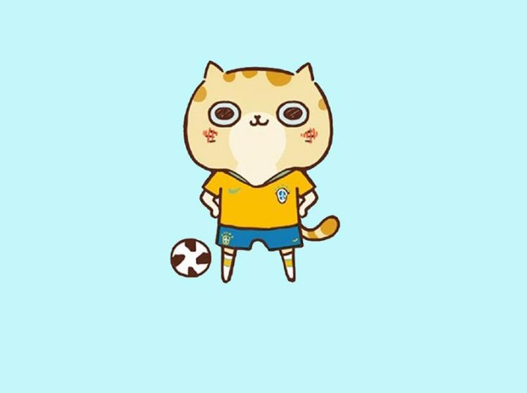 可爱软萌卡通猫咪图片集合图片
