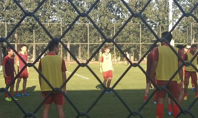国足迎重大利好!新10号正式合练,对缅甸登场,世预赛将是核心