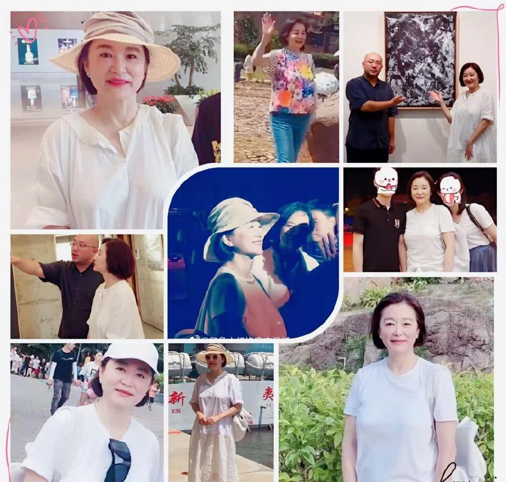林青霞从容面对衰老,一身素雅打扮广受路人欢迎