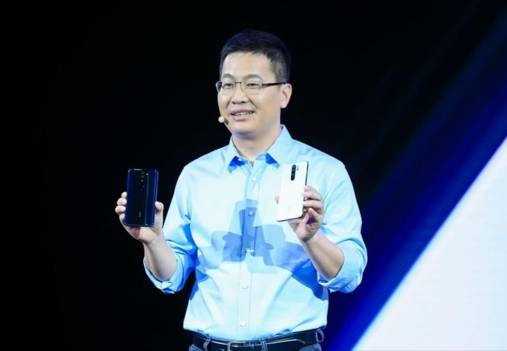 卢伟冰10点正式官宣,红米Note8Pro首销破30万台!