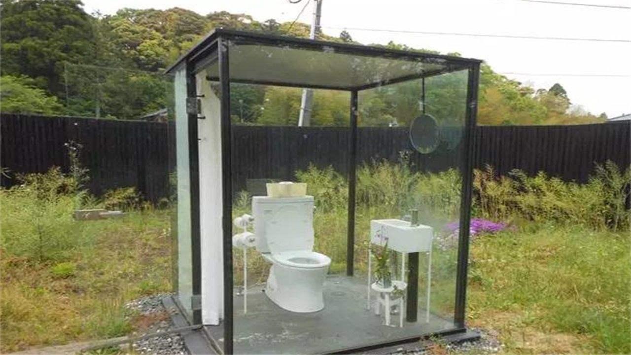 日本建造了全透明玻璃厕所,只有女士可以用,网友:上厕所有压力