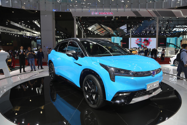 广汽新能源Aion LX,豪华智能超跑SUV,上海车展实拍!