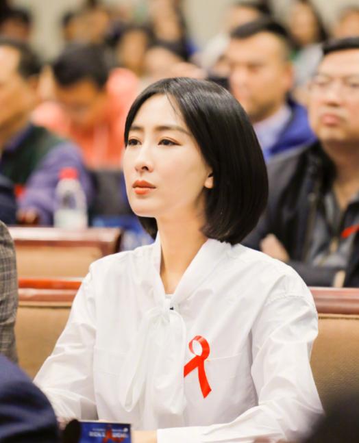 马苏做公益宣传预防艾滋病,被骂是水浒王婆,她反驳:做人要善良