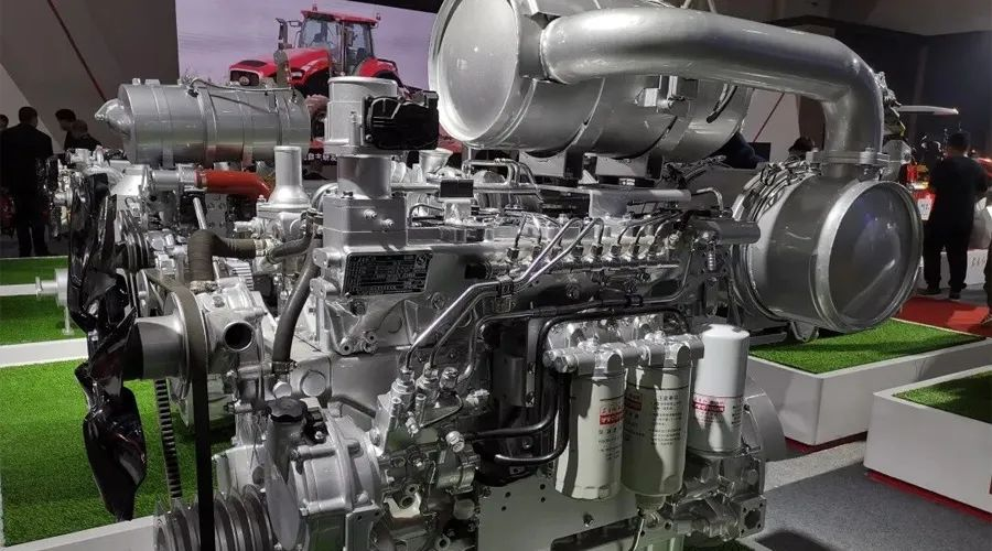 「东方红4108柴油机参数」东方红柴油机国四全系列亮相青岛农机展