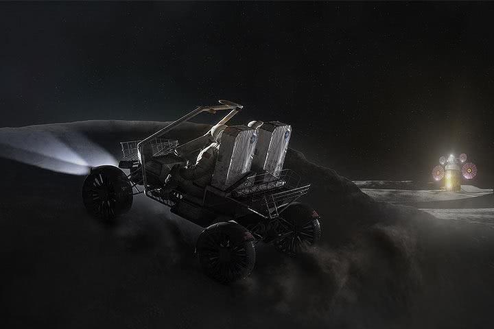 NASA呼叫车厂,征求登月车设计,谁能接?