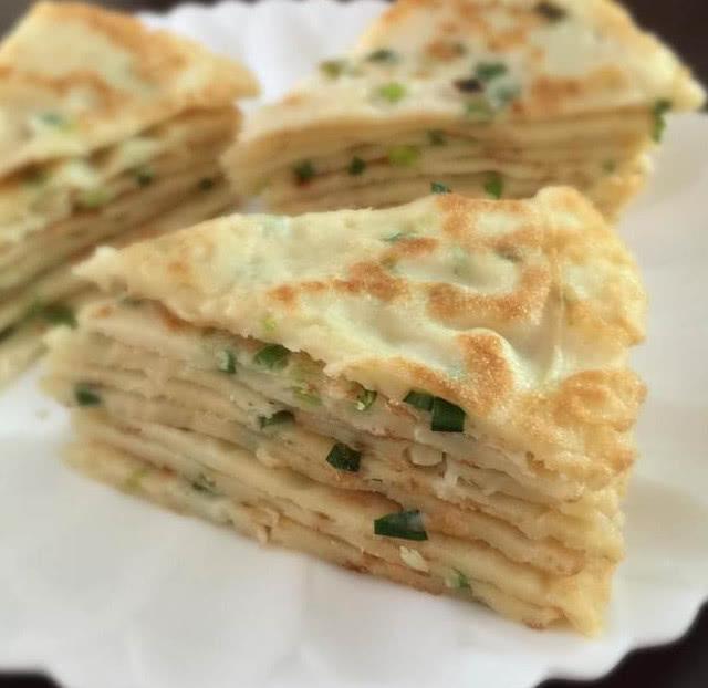 葱花饼这样做,好吃不上火,柔软筋道越嚼越香,一出锅就吃光!