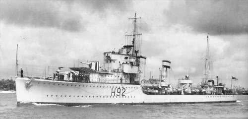 二战英国驱逐舰也敢以弱击强德国重巡洋舰:害我在港口躺了几月